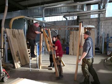 Holzfässer bauen